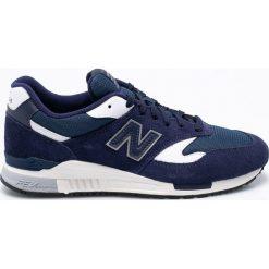 New Balance - Buty ML840AG. Niebieskie buty sportowe męskie New Balance, z gumy. W wyprzedaży za 359.90 zł.
