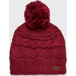 Roxy - Czapka. Brązowe czapki i kapelusze damskie Roxy, z dzianiny. W wyprzedaży za 99.90 zł.