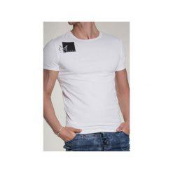 T-SHIRT ARMY 2. Białe t-shirty męskie Guns&tuxedos, z klasycznym kołnierzykiem. Za 219.00 zł.