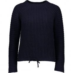 Sweter w kolorze czarnym. Czarne swetry damskie Gottardi, z kaszmiru, z okrągłym kołnierzem. W wyprzedaży za 173.95 zł.