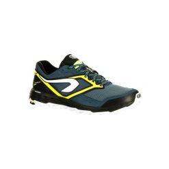 Buty do biegania KIPRUN TRAIL XT 7 męskie. Szare buty sportowe męskie KALENJI, z gumy. W wyprzedaży za 199.99 zł.