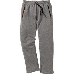 Spodnie sportowe bonprix szary melanż. Spodnie sportowe męskie marki bonprix. Za 74.99 zł.