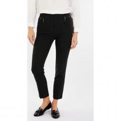 """Spodnie """"Inprenelle"""" w kolorze ciemnoszarym. Szare spodnie materiałowe damskie Scottage, w kratkę. W wyprzedaży za 113.95 zł."""