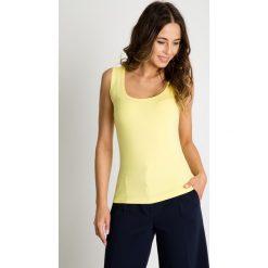 Klasyczny żółty top BIALCON. T-shirty i topy dla dziewczynek marki bonprix. Za 69.00 zł.