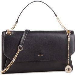 Torebka DKNY - Bryant Envelope Clutch R74G3011 Blk/Gold BGD. Czarne torebki do ręki damskie DKNY, ze skóry. Za 939.00 zł.