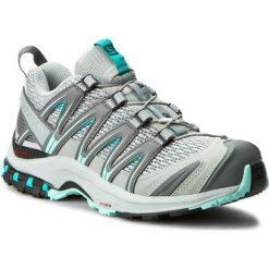 Buty SALOMON - Xa Pro 3D W 393291 20 V0 Quarry/Pearl Blue/Aruba Blue. Szare obuwie sportowe damskie Salomon, z materiału. W wyprzedaży za 349.00 zł.