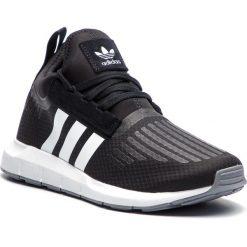 Buty adidas - Swift Run Barrier B37701 Cblack/Ftwwht/Grey. Czarne buty sportowe męskie Adidas, z materiału. Za 399.00 zł.