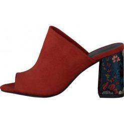 Tamaris Sandały Damskie Heiti 37 Czerwony. Czerwone sandały damskie Tamaris, z materiału. W wyprzedaży za 149.00 zł.