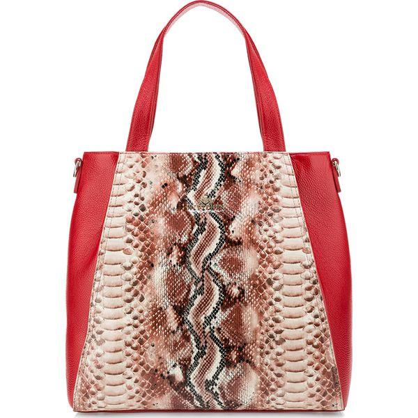 2ba90747a65c8 Torebka damska 85-4E-355-3 - Czerwone torebki do ręki damskie marki ...