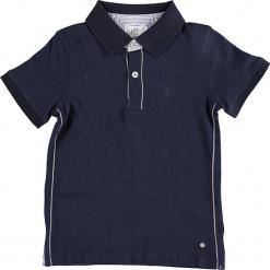 Koszulka polo w kolorze granatowym. Niebieskie t-shirty dla chłopców Paglie, New G.O.L & more, z haftami, z bawełny. W wyprzedaży za 35.95 zł.