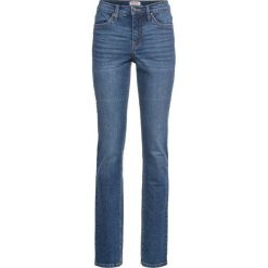"""Dżinsy """"authentik-stretch"""" SLIM bonprix niebieski. Niebieskie jeansy damskie bonprix. Za 109.99 zł."""