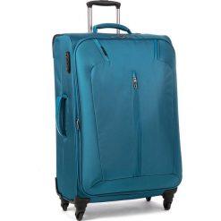 Duża Materiałowa Walizka PUCCINI - EM50320 A 7 Blue 7. Niebieskie walizki męskie Puccini, z materiału. Za 369.00 zł.