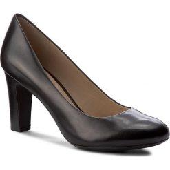 Półbuty GEOX - D N. Mariele H. A D5298A 00043 C9999 Black. Czarne półbuty damskie Geox, ze skóry, eleganckie. W wyprzedaży za 249.00 zł.