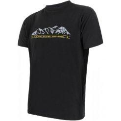 Sensor Koszulka Termoaktywna Z Krótkim Rękawem Merino Wool Pt M Hory Black L. Czarne koszulki sportowe męskie Sensor, z materiału, z krótkim rękawem. Za 189.00 zł.