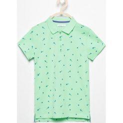 Koszulka polo - Turkusowy. Niebieskie t-shirty dla chłopców Reserved. Za 49.99 zł.