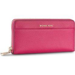 Duży Portfel Damski MICHAEL MICHAEL KORS - Mercer 32S7GM9E9L Ultra Pink. Czerwone portfele damskie MICHAEL Michael Kors, ze skóry. Za 659.00 zł.