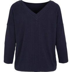"""Koszulka """"Pearl"""" w kolorze granatowym. T-shirty damskie Frieda Sand, z bawełny. W wyprzedaży za 65.95 zł."""