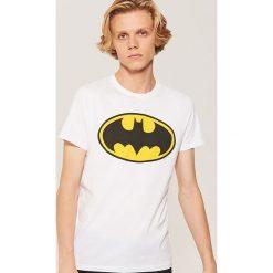 T-shirt Batman - Biały. Białe t-shirty męskie House, z motywem z bajki. Za 39.99 zł.