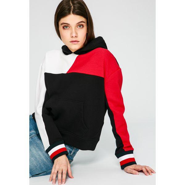 5cffcfd70 Tommy Hilfiger - Bluza - Bluzy damskie Tommy Hilfiger, z bawełny. W ...