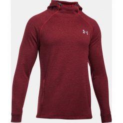 Under Armour Bluza męska Tech™ Terry Fitted Hoodie czerwona r. XL (1295919-600). Bluzy męskie marki KALENJI. Za 165.22 zł.