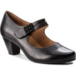 Półbuty CAPRICE - 9-24405-21 Black Nappa 022. Czarne półbuty damskie Caprice, ze skóry ekologicznej, eleganckie. W wyprzedaży za 219.00 zł.