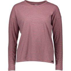 Koszulka w kolorze szaroróżowo-granatowym. Czerwone t-shirty damskie Lee Jeans, w paski, z okrągłym kołnierzem, z długim rękawem. W wyprzedaży za 87.95 zł.