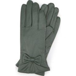 Rękawiczki damskie 39-6-550-Z. Brązowe rękawiczki damskie Wittchen, z polaru. Za 99.00 zł.