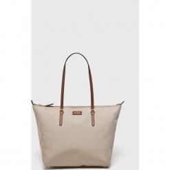 Lauren Ralph Lauren - Torebka. Szare torby na ramię damskie Lauren Ralph Lauren. Za 499.90 zł.