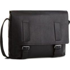 Torba na laptopa STRELLSON - Turnham 4010002206 Black 900. Czarne torby na laptopa męskie Strellson, ze skóry. W wyprzedaży za 649.00 zł.