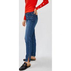 Guess Jeans - Jeansy Marilyn 3 Zip. Niebieskie jeansy damskie Guess Jeans. Za 399.90 zł.
