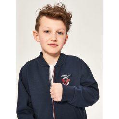 Bluza ze stójką - Granatowy. Niebieskie bluzy dla chłopców Reserved. Za 79.99 zł.