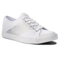 Trampki CALVIN KLEIN JEANS - Antonio SE8590 White/Silver. Trampki męskie marki Converse. W wyprzedaży za 359.00 zł.