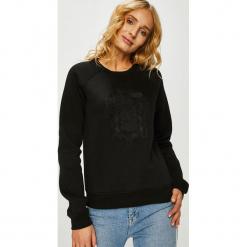 G-Star Raw - Bluza. Czarne bluzy damskie G-Star Raw, z aplikacjami, z bawełny. Za 419.90 zł.