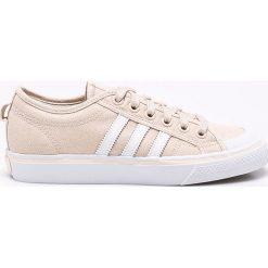 Adidas Originals - Buty Nizza. Szare obuwie sportowe damskie adidas Originals, z gumy. W wyprzedaży za 219.90 zł.