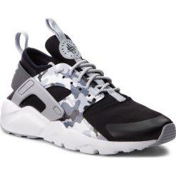 Buty NIKE - Air Huarache Run Ultra Prt Gs AQ9038 001 Black/Wolf Grey/Dark Grey. Czarne obuwie sportowe damskie Nike, z materiału. W wyprzedaży za 339.00 zł.