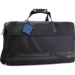 Torba TRUSSARDI JEANS - 71B00089 K299. Czarne torby sportowe męskie TRUSSARDI JEANS, z jeansu. W wyprzedaży za 479.00 zł.