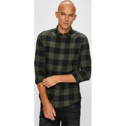Only & Sons - Koszula. Czarne koszule męskie Only & Sons, w kratkę, z bawełny, z klasycznym kołnierzykiem, z długim rękawem. W wyprzedaży za 99.90 zł.