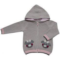 EKO Dziewczęcy Sweter W Pasy, 98, Jasnoróżowy. Swetry dla dziewczynek marki bonprix. Za 93.00 zł.