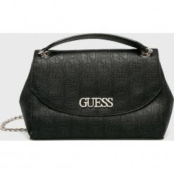 Guess Jeans - Torebka. Czarne torby na ramię damskie Guess Jeans. Za 559.90 zł.