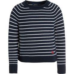 Polo Ralph Lauren EYELET Sweter summer navy/white. Swetry dla dziewczynek Polo Ralph Lauren, z bawełny, polo. Za 359.00 zł.