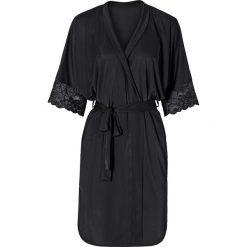 Szlafrok kimono bonprix czarny. Szlafroki damskie marki NABAIJI. Za 79.99 zł.
