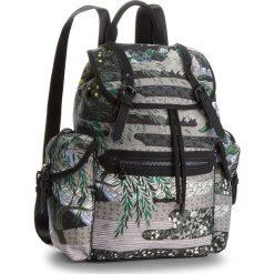 Plecak DESIGUAL - 18WAXFAF 4003. Zielone plecaki damskie Desigual, z materiału, klasyczne. W wyprzedaży za 279.00 zł.
