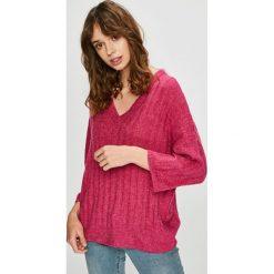 Jacqueline de Yong - Sweter. Różowe swetry damskie Jacqueline de Yong, z dzianiny. W wyprzedaży za 99.90 zł.