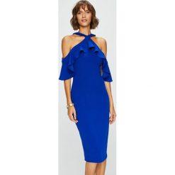 Answear - Sukienka. Szare sukienki damskie ANSWEAR, z elastanu, casualowe. W wyprzedaży za 139.90 zł.