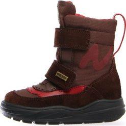 """Kozaki zimowe """"Klos"""" w kolorze brązowo-czerwonym. Buty zimowe dziewczęce Zimowe obuwie dla dzieci. W wyprzedaży za 215.95 zł."""