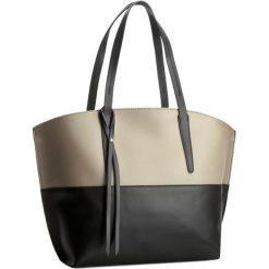 Torebka CREOLE - K10193 Czarny/Beż. Brązowe torebki do ręki damskie Creole, ze skóry. W wyprzedaży za 249.00 zł.