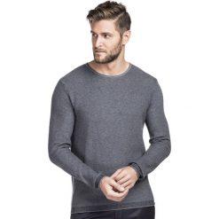 Sweter ZENONE SWPR000195. Szare swetry przez głowę męskie Giacomo Conti, z bawełny. Za 249.00 zł.