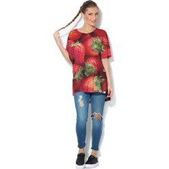 Colour Pleasure Koszulka CP-033  241 czerwona r. uniwersalny. T-shirty damskie Colour Pleasure. Za 76.57 zł.