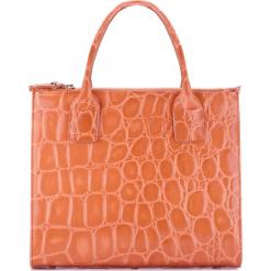 Torebka damska 78-4-144-5. Brązowe torebki do ręki damskie Wittchen, w paski. Za 499.00 zł.