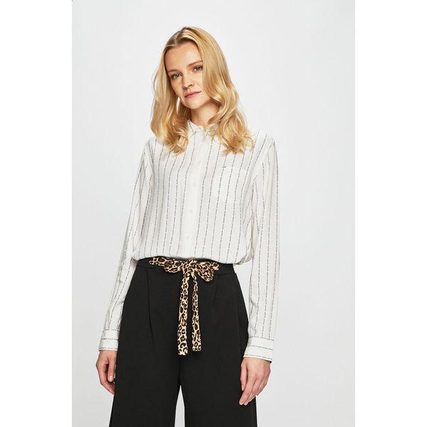 Lee Koszula Białe bluzki damskie Lee, l, bez wzorów, z  hrU9G